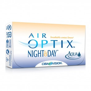 Air Optix Night & Day Aqua (3 линзы)