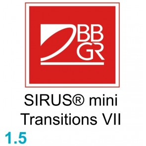 BBGR SIRUS® mini 15 Transitions VII