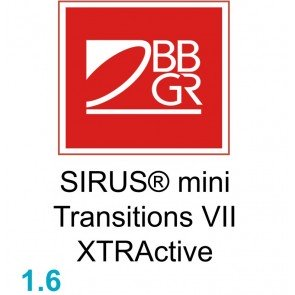 BBGR SIRUS® mini 16 Transitions XTRActive
