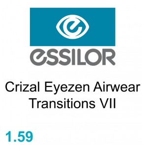 Essilor Crizal Eyezen Airwear Transitions VII