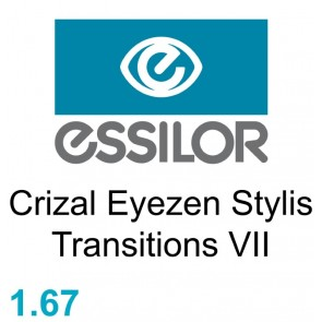 Essilor Crizal Eyezen Stylis Transitions VII