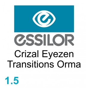 Essilor Crizal Eyezen Transitions Orma
