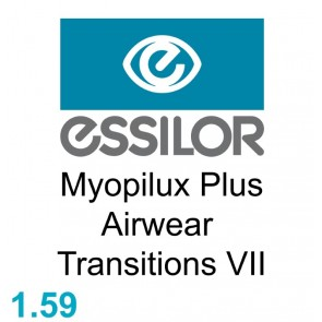 Essilor Myopilux Plus Airwear 1.59 Transitions VII