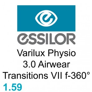 Essilor Varilux Physio 3.0 Airwear Transitions VII f-360°
