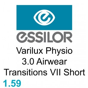 Essilor Varilux Physio 3.0 Airwear Transitions VII Short