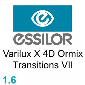 Essilor Varilux X 4D Ormix Transitions VII / Xclusive