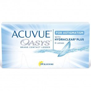 Oasys for Astigmatism with HYDRACLEAR® PLUS (6 линз)