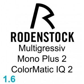 Rodenstock Multigressiv Mono Plus 2 ColorMatic IQ 2 1.60