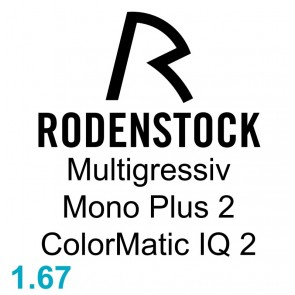 Rodenstock Multigressiv Mono Plus 2 ColorMatic IQ 2 1.67