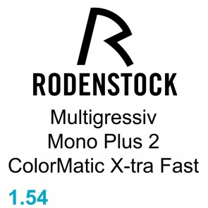 Rodenstock Multigressiv Mono Plus 2 ColorMatic X-tra Fast 1.54