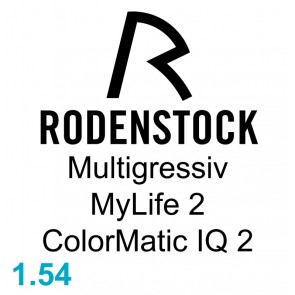 Rodenstock Multigressiv MyLife 2 ColorMatic IQ 2 1.54