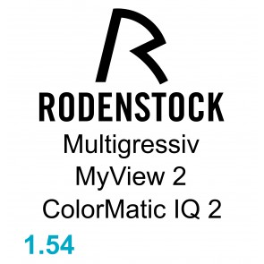 Rodenstock Multigressiv MyView 2 ColorMatic IQ 2 1.54