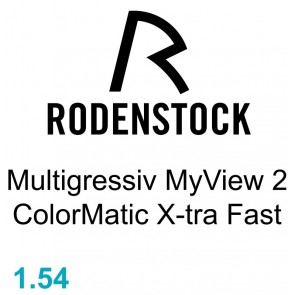 Rodenstock Multigressiv MyView 2 ColorMatic X-tra Fast 1.54