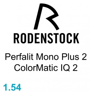 Rodenstock Perfalit Mono Plus 2 ColorMatic IQ 2 1.54
