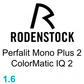 Rodenstock Perfalit Mono Plus 2 ColorMatic IQ 2 1.60