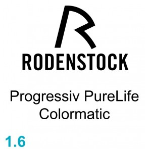 Rodenstock Progressiv PureLife Colormatic 1.60