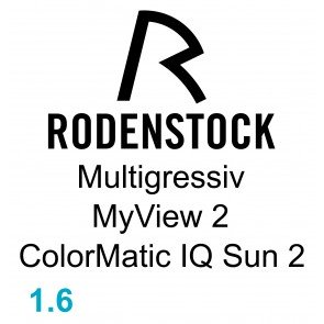 Rodenstock Multigressiv MyView 2 ColorMatic IQ Sun 2 1.60