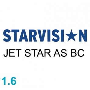 STARVISION JET STAR 1.60 AS BC