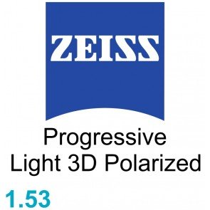 Zeiss Progressive Light 3D 1.53 Polarized