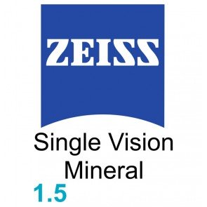 Zeiss Single Vision Sph Mineral 1.5