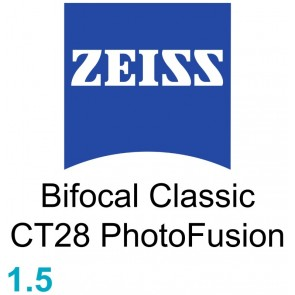 Zeiss Bifocal Classic CT28 1.5 PhotoFusion