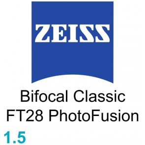 Zeiss Bifocal Classic FT28 1.5 PhotoFusion