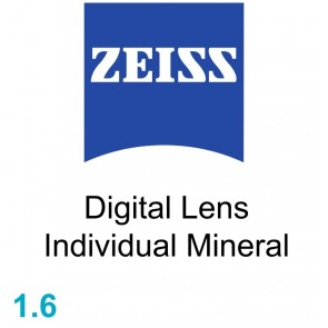 Zeiss Digital Lens Individual Mineral 1.6