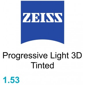 Zeiss Progressive Light 3D 1.53 Tinted