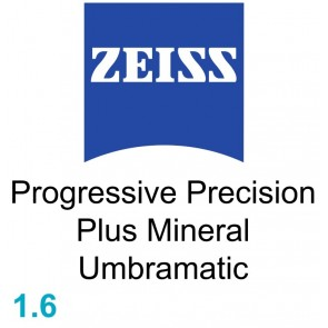 Zeiss Progressive Precision Plus Mineral 1.6 Umbramatic