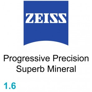 Zeiss Progressive Precision Superb Mineral 1.6