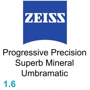 Zeiss Progressive Precision Superb Mineral 1.6 Umbramatic