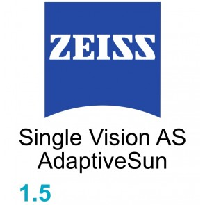 Zeiss Single Vision AS 1.5 AdaptiveSun