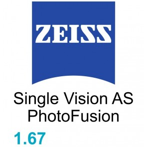 Zeiss Single Vision  AS 1.67 PhotoFusion