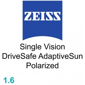 Zeiss Single Vision DriveSafe 1.6 AdaptiveSun Polarized
