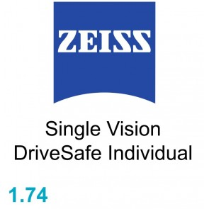 Zeiss Single Vision DriveSafe Individual 1.74