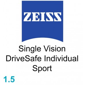 Zeiss Single Vision DriveSafe Individual Sport 1.5