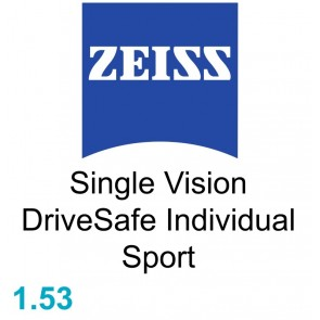 Zeiss Single Vision DriveSafe Individual Sport 1.53