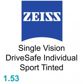 Zeiss Single Vision DriveSafe Individual Sport 1.53 Tinted