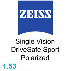 Zeiss Single Vision DriveSafe Sport 1.53 Polarized