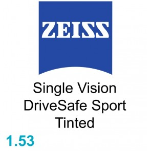 Zeiss Single Vision DriveSafe Sport 1.53 Tinted