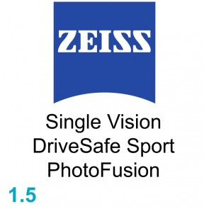 Zeiss Single Vision DriveSafe Sport 1.5 PhotoFusion
