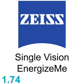 Zeiss Single Vision EnergizeMe 1.74