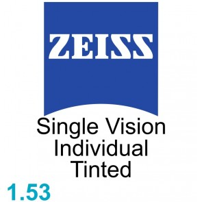 Zeiss Single Vision Individual 1.53 Tinted