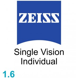 Zeiss Single Vision Individual 1.6