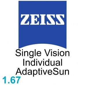 Zeiss Single Vision Individual 1.67 AdaptiveSun