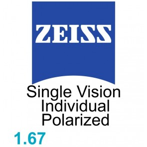 Zeiss Single Vision Individual 1.67 Polarized