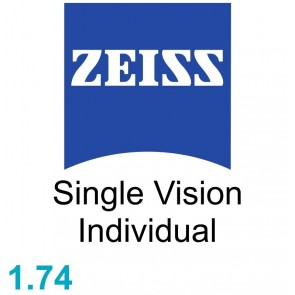 Zeiss Single Vision Individual 1.74