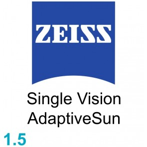 Zeiss Single Vision Sph 1.5 AdaptiveSun