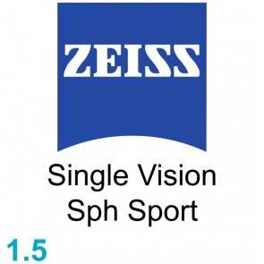 Zeiss Single Vision Sph Sport 1.5