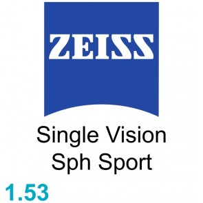 Zeiss Single Vision Sph Sport 1.53